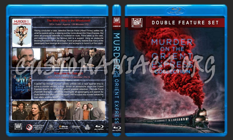 Murder on the Orient Express Collection blu-ray cover