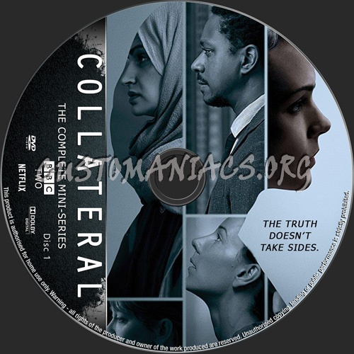 Collateral Mini-Series dvd label