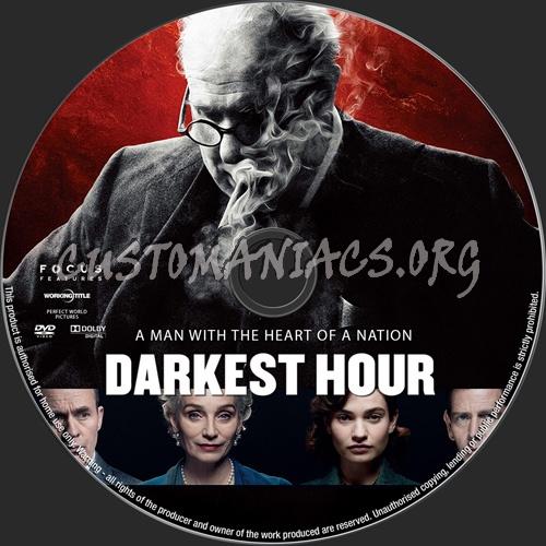 Darkest Hour dvd label