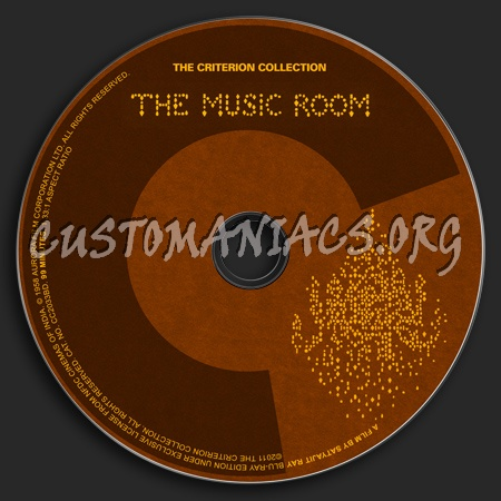 573 - The Music Room dvd label