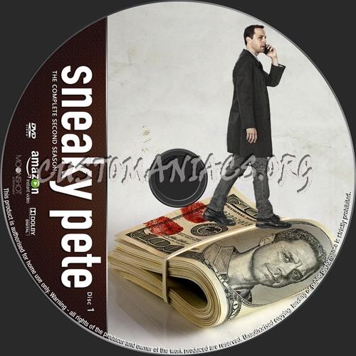 Sneaky Pete Season 2 dvd label