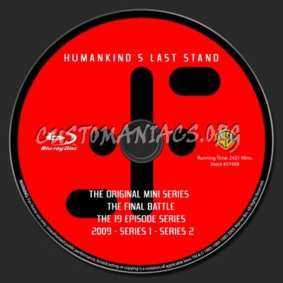 V The Original Series blu-ray label
