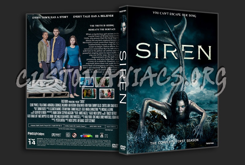 Siren Season 1 dvd cover