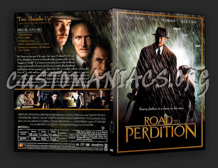Road To Perdition Quotes: DVD Covers & Labels By Customaniacs