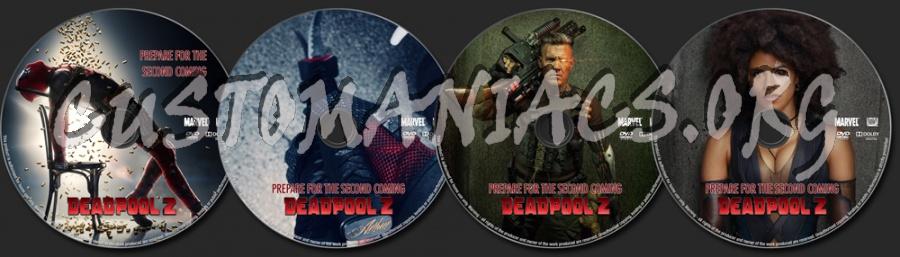 Deadpool 2 (2018) dvd label