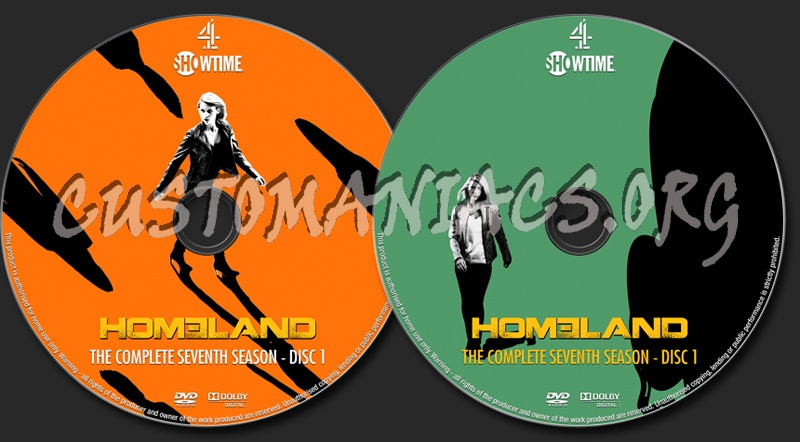 Homeland Season 7 dvd label - DVD Covers & Labels by Customaniacs