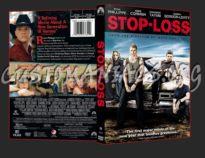 Stop Loss dvd cover