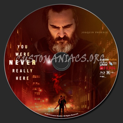 You Were Never Really Here blu-ray label