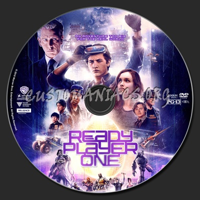 Ready Player One dvd label