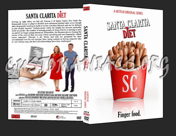 Santa Clarita Diet - Season 2 dvd cover