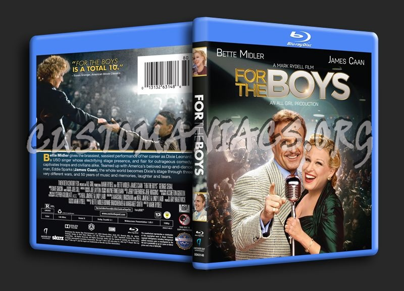 For the Boys blu-ray cover