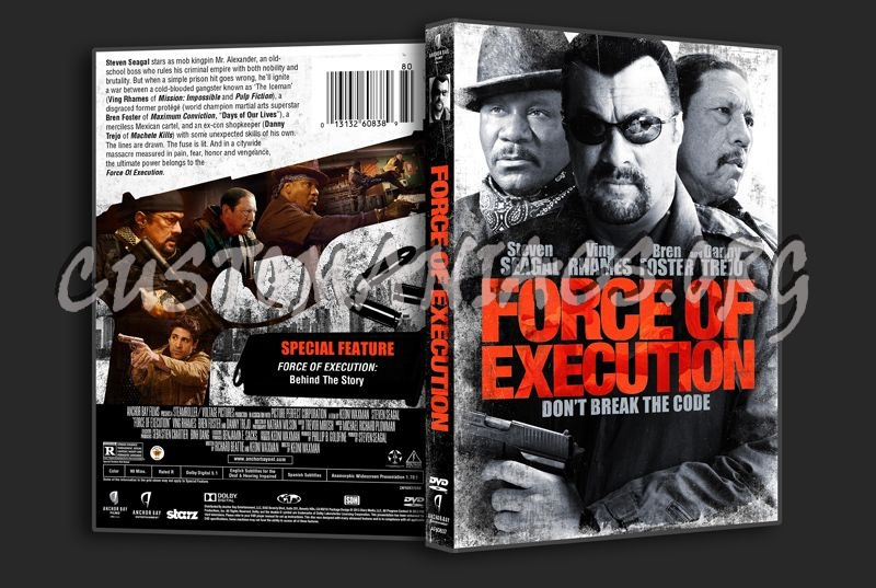 Force of Execution dvd cover