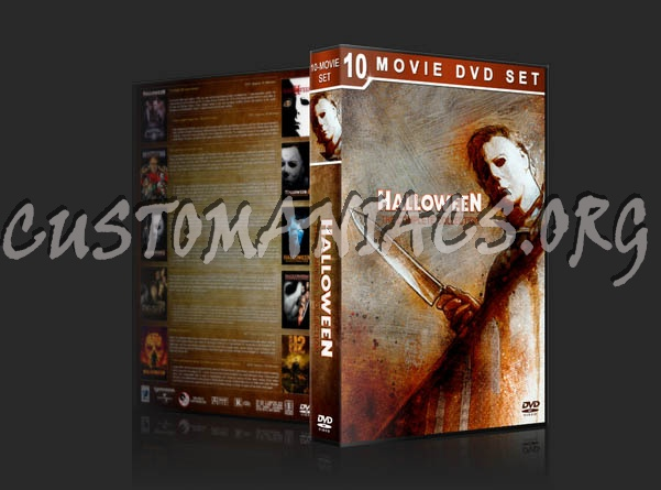 Halloween: The Complete Collection dvd cover