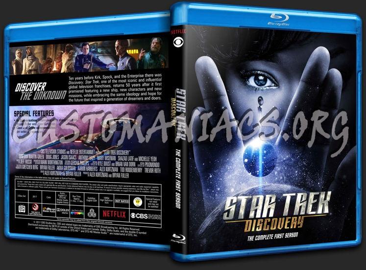 Star Trek: Discovery - Season 1 blu-ray cover