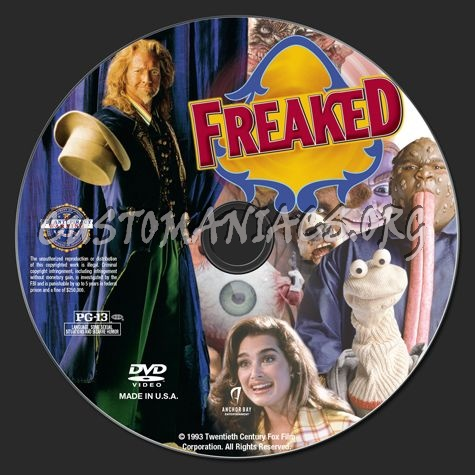 Freaked dvd label