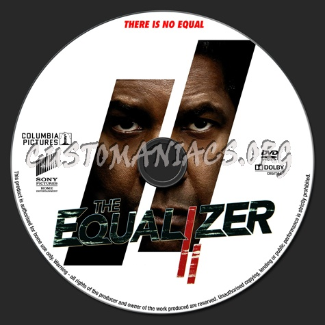 The Equalizer 2 2018 Dvd Label Dvd Covers Labels By Customaniacs Id 252226 Free Download Highres Dvd Label