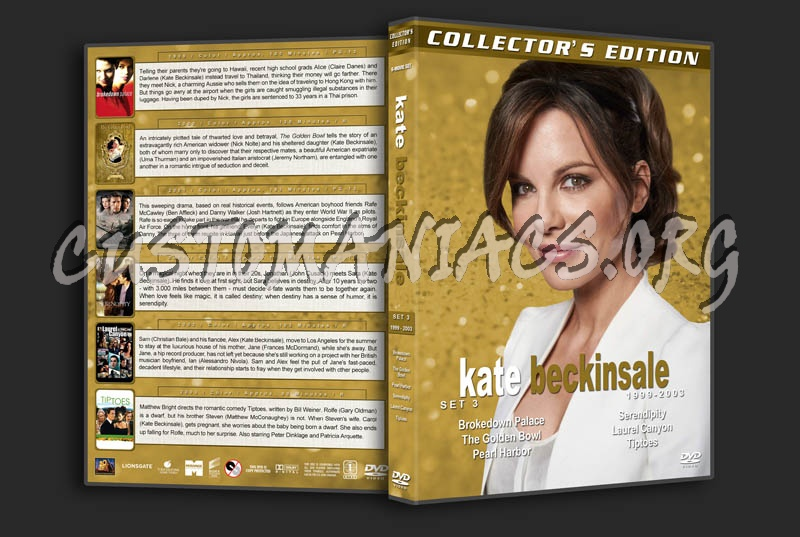 Kate Beckinsale Film Collection - Set 3 (1999-2003) dvd cover
