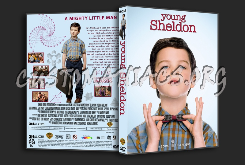 Young Sheldon Season 1 dvd cover