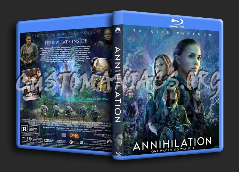 Annihilation blu-ray cover