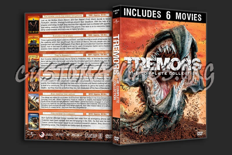Tremors: The Complete Collection dvd cover