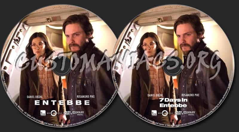 Entebbe (or 7 Days in Entebbe) dvd label