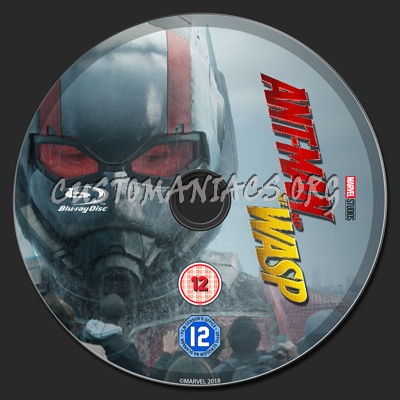 Ant Man And The Wasp blu-ray label