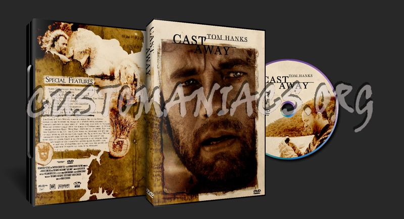 Cast Away dvd cover