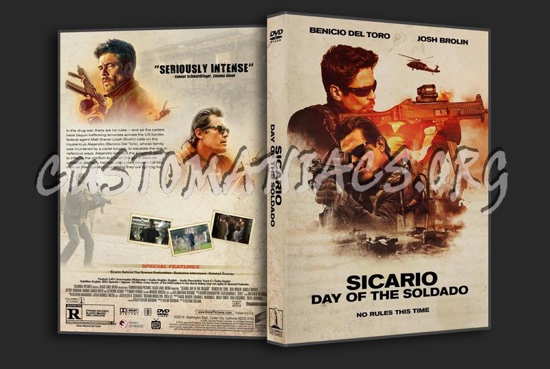Sicario: Day Of The Soldado dvd cover