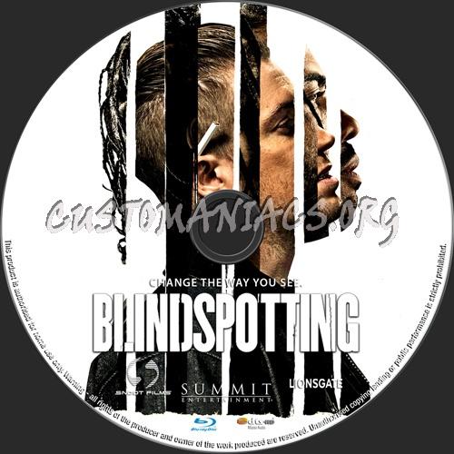 Blindspotting blu-ray label