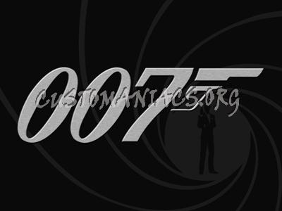 007 James Bond Logo Silver