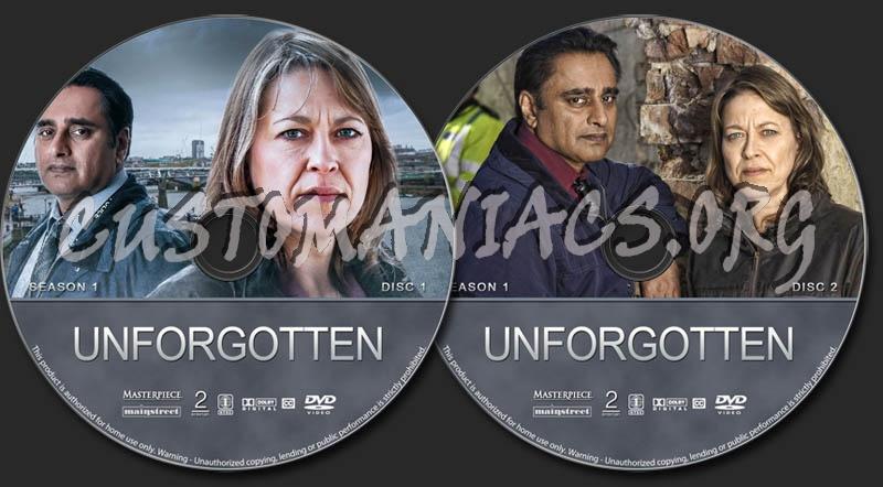 Unforgotten - Season 1 dvd label