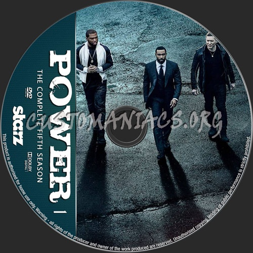 Power Season 5 dvd label