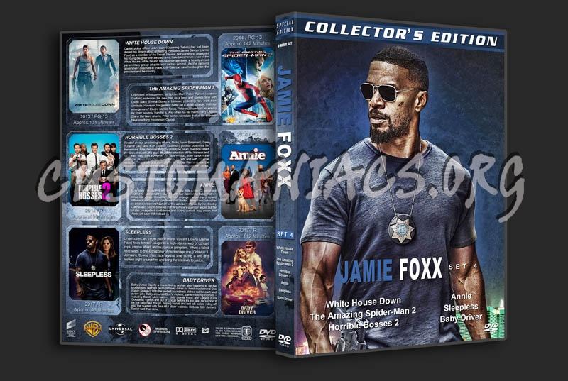 Jamie Fox - Set 4 (2013-2017) dvd cover