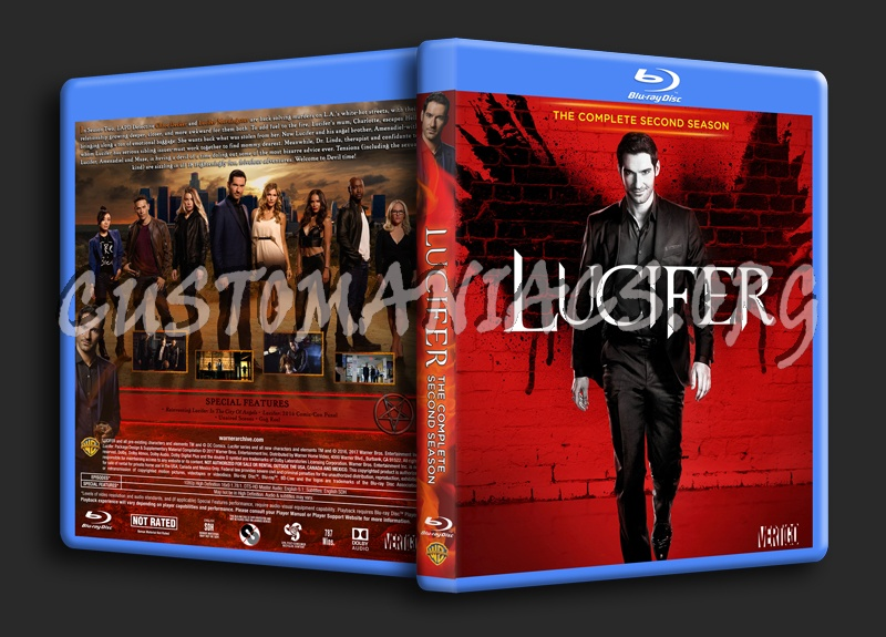 Lucifer Season 2 blu-ray cover