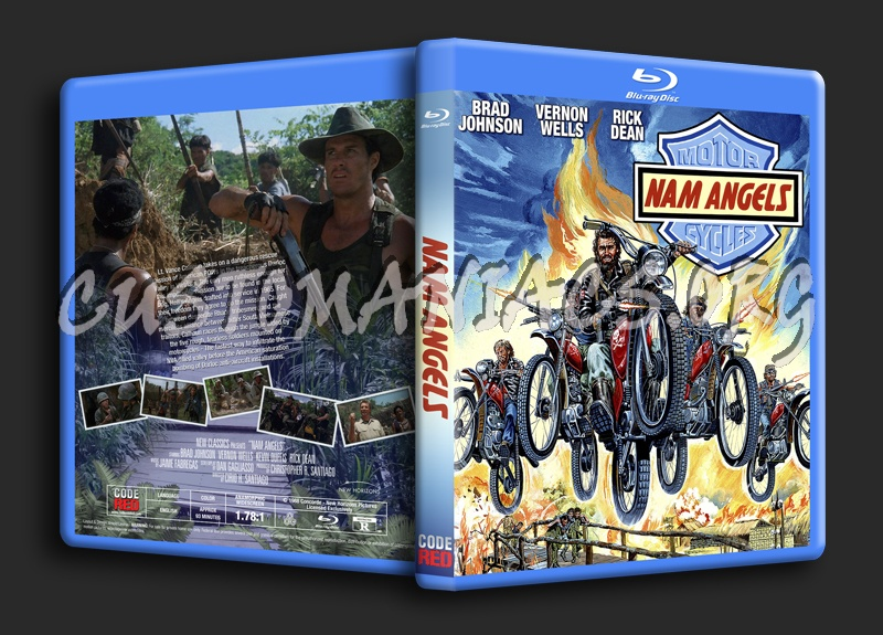 Nam Angels (1989) blu-ray cover
