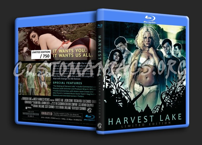 Harvest Lake blu-ray cover