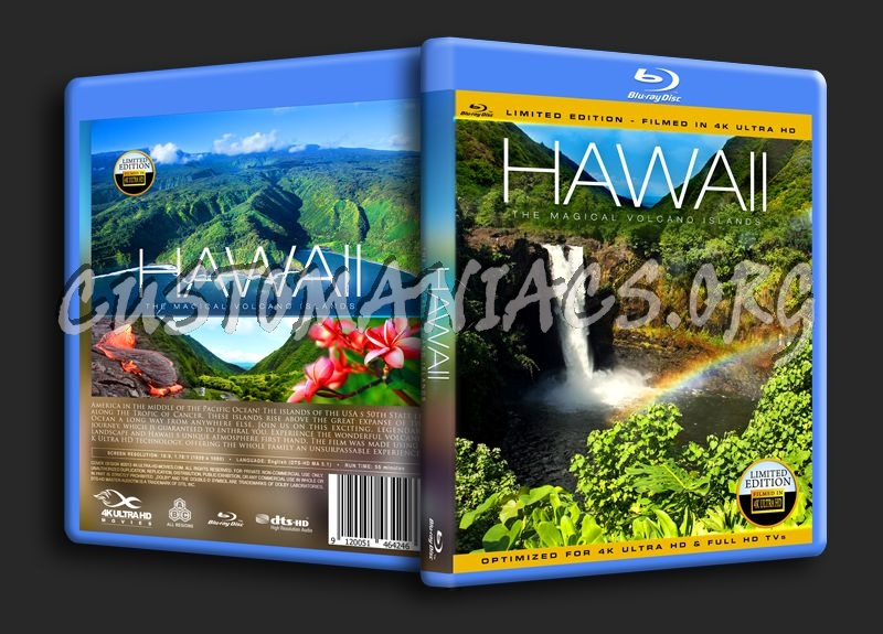 Hawaii 4K blu-ray cover