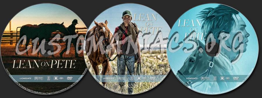 Lean on Pete dvd label