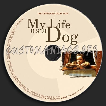178 - My Life As A Dog dvd label