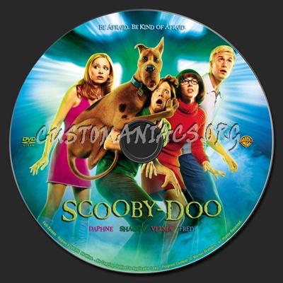 Scooby-Doo dvd label