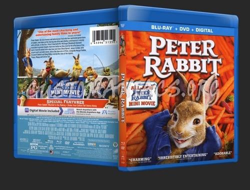Peter Rabbit blu-ray cover