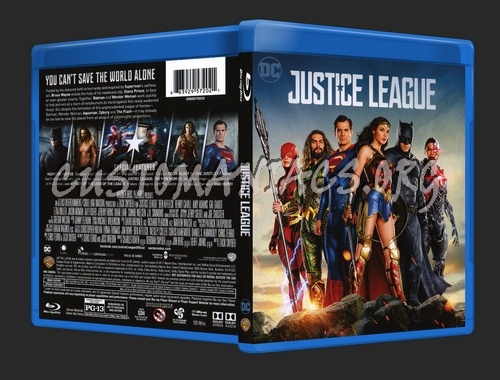 Justice League blu-ray cover