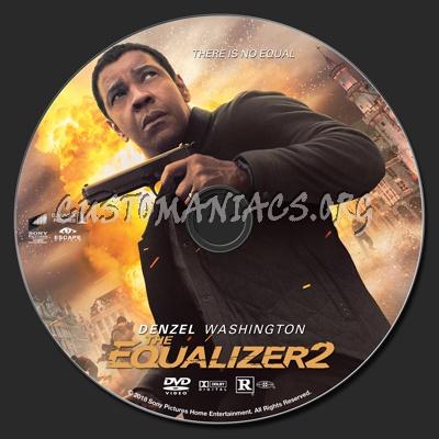 The Equalizer 2 dvd label