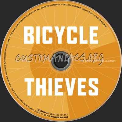 374 - Bicycle Thieves dvd label