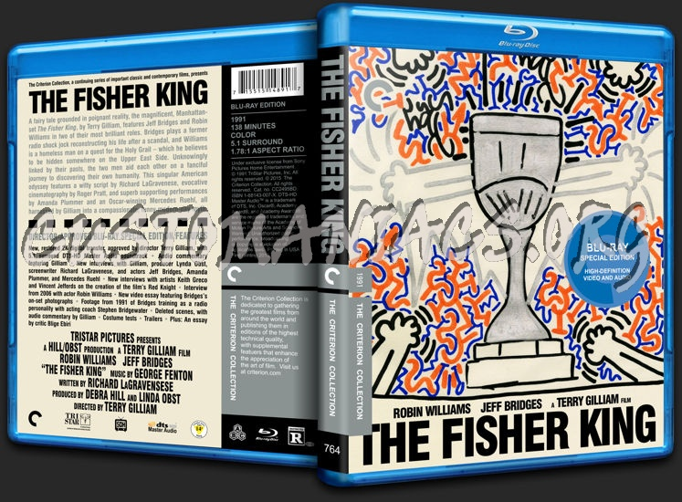 764 - The Fisher King blu-ray cover