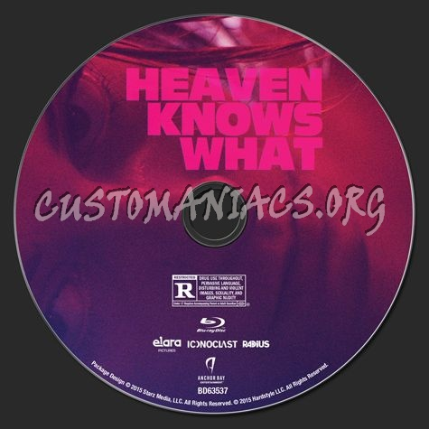 Heaven Knows What blu-ray label