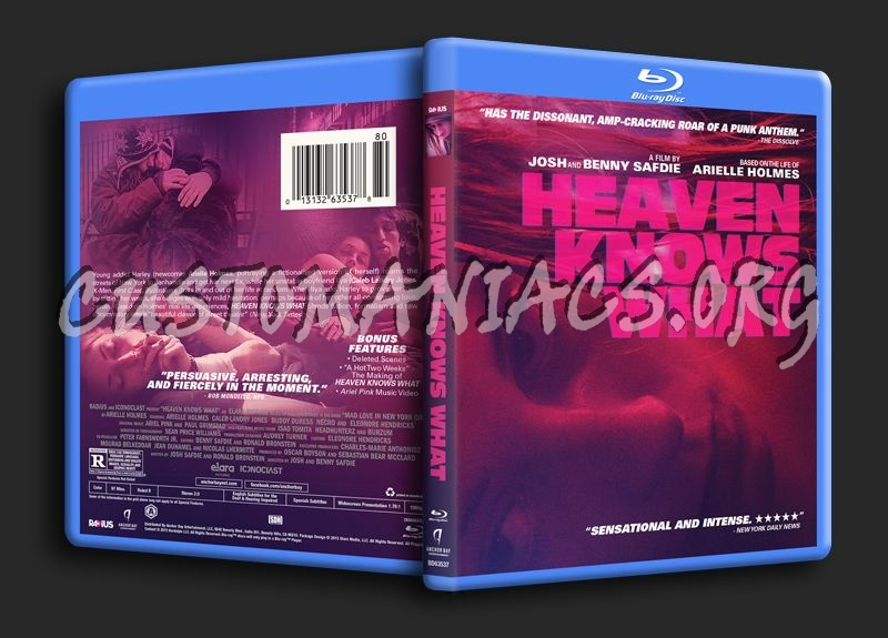 Heaven Knows What blu-ray cover
