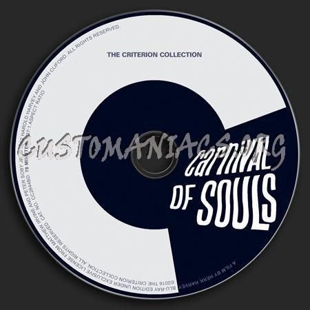 063 - Carnival of Souls dvd label