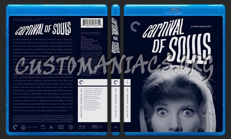 063 - Carnival of Souls blu-ray cover