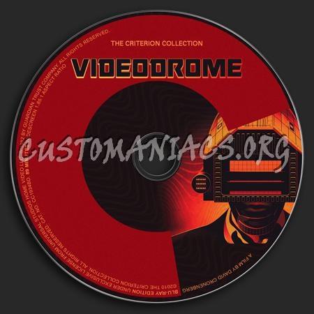 248 - Videodrome dvd label